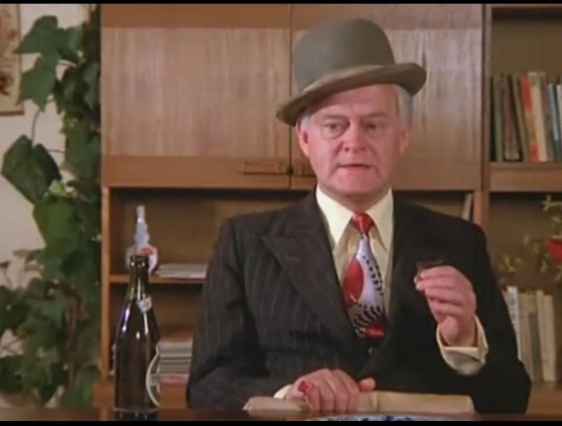 """Kadr z filmu """"Gang Olsena"""". Teraz podobny mamy w Ełku."""