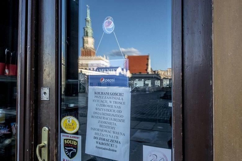 Poznańscy przedsiębiorcy wynajmujący lokale komunalne od miasta, zwrócili się z prośbą o wsparcie do prezydenta Poznania, Jacka Jaśkowiaka.