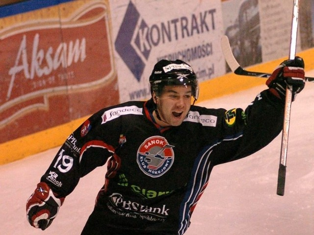 Droga obrońców trofeum (na zdjęciu Krzysztof Zapała) cofnęła się o jedną rundę.