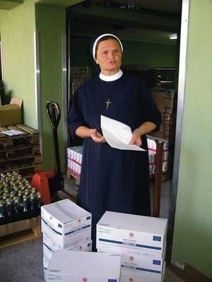 Siostra Liliana kombinuje bez przerwy Fot. z archiwum Caritas Polska Kraków