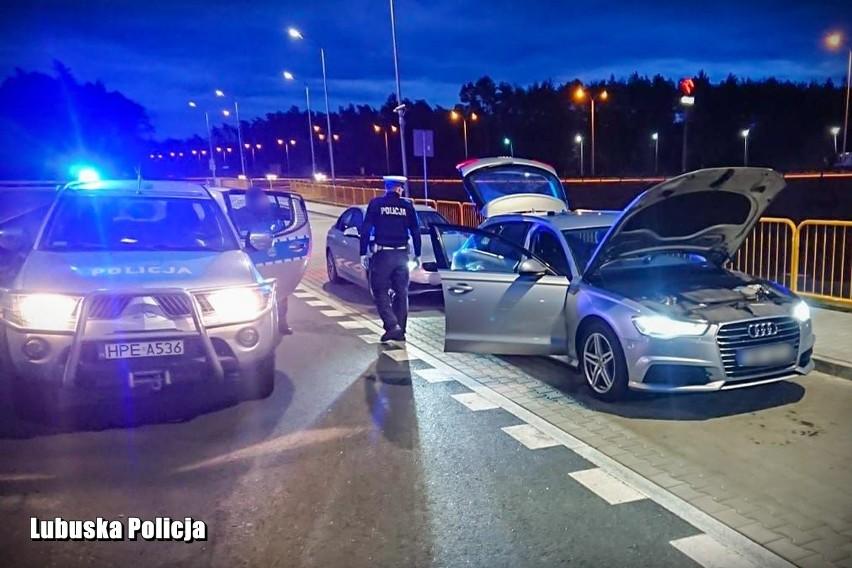 Policjanci z Nowej Soli na drodze S3 zatrzymali do kontroli...