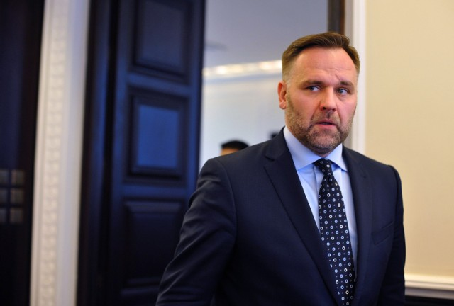 Minister skarbu Dawid Jackiewicz