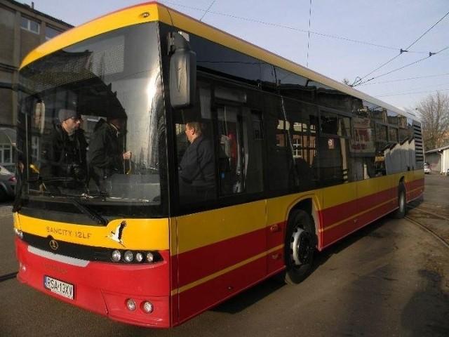 Sancity 12 będzie przez tydzień jeździł po Łodzi