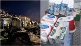 Tarnów. Spontaniczna akcja pomocy dla pogorzelców z Nowej Białej. Klub Czarownic organizuje zbiórkę wspólnie z ZSMS ZKS Unia Tarnów