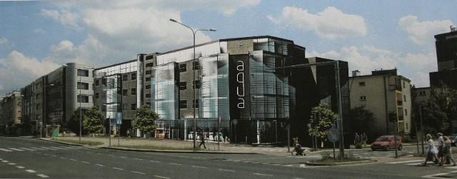 Tak będzie wyglądał budynek, który powstanie wzdłuż ulicy IX Wieków Kielc, od Mojżesza Pelca do Cichej.