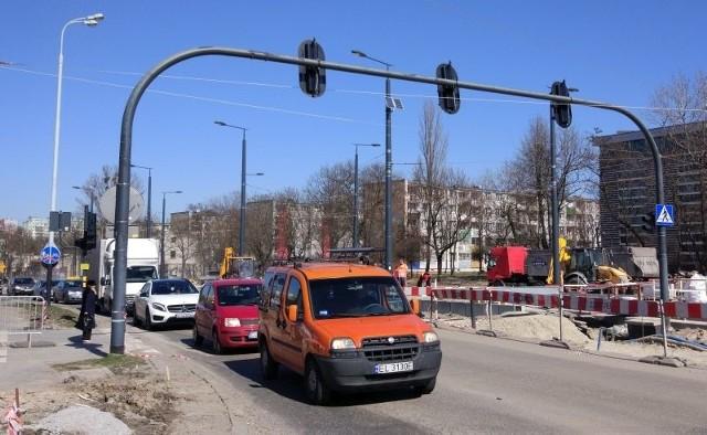 Remont skrzyżowania ul. Dąbrowskiego i al. Śmigłego - Rydza