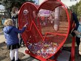 W gminie Niepołomice stanęły kolejne serca na nakrętki [ZDJĘCIA]