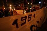 Marsz narodowców w rocznicę wprowadzenia stanu wojennego (ZDJĘCIA)