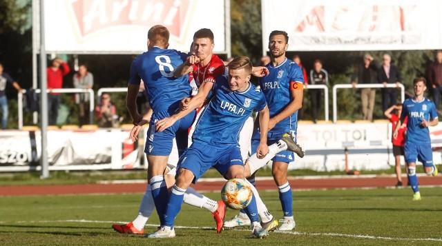 Mimo wygranej w meczu z Resovią rezerwy Kolejorza wciąż nie mogą być pewne utrzymania w II lidze