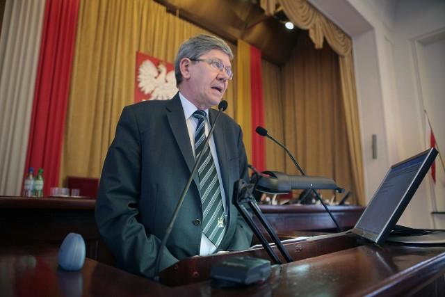Władysław Skwarka rezygnuje z przewodniczenia komisji rewizyjnej łódzkiej Rady Miejskiej. To protest przeciw decyzjom radnych.