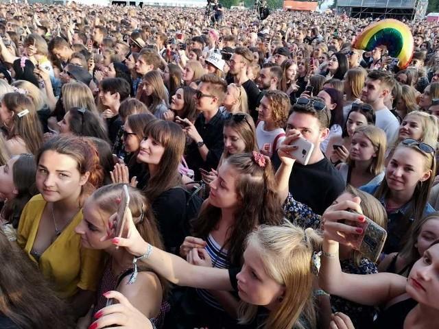Publiczność Kraków Live Festival