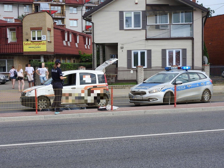 Wypadek śmiertelne Potrącenie Pieszej Przy Auchan Na Hetmańskiej