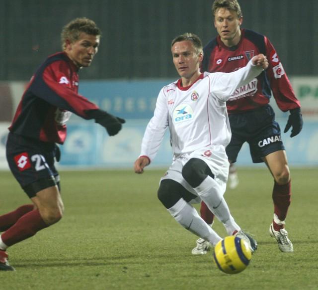 Arkadiusz Głowackima na głowie potężnego guza, ale dotarł na zgrupowanie reprezentacji.