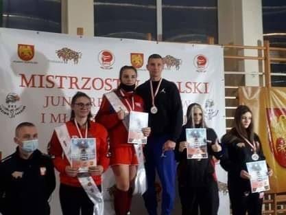 Oliwia Ścisłowska była bezkonkurencyjna. Zdobyła zasłużenie złoty medal