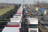 Zakorkowana autostrada pod Wrocławiem. Zator miał 25 km!