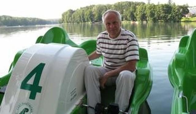 Rok 2009. Stefan Niesiołowski chętnie spędzał czas w Łagowie Lubuskim. Tak, tam można było go spotkać