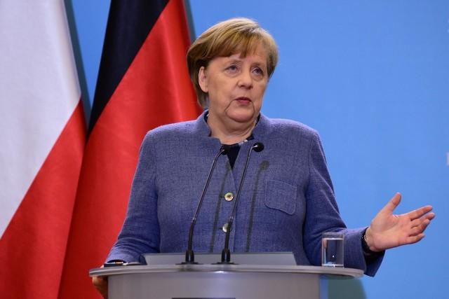 Kanclerz Niemiec Angela Merkel krytykuje blokadę Donalda Trumpa w mediach społecznościowych