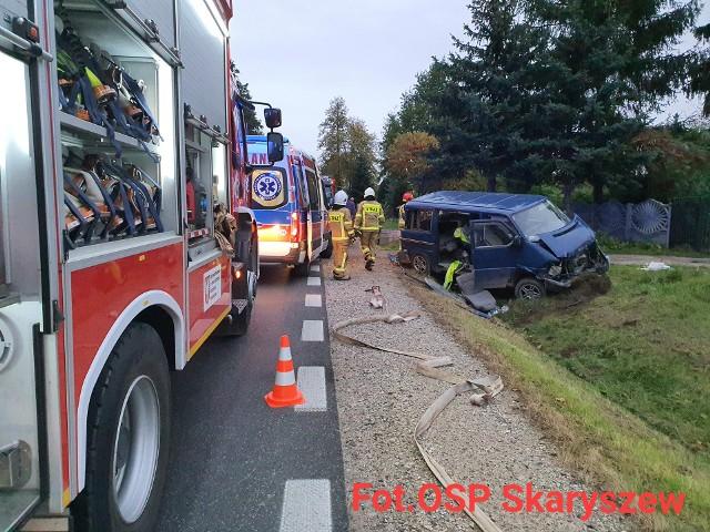 Wypadek miał miejsce na drodze krajowej numer 9.