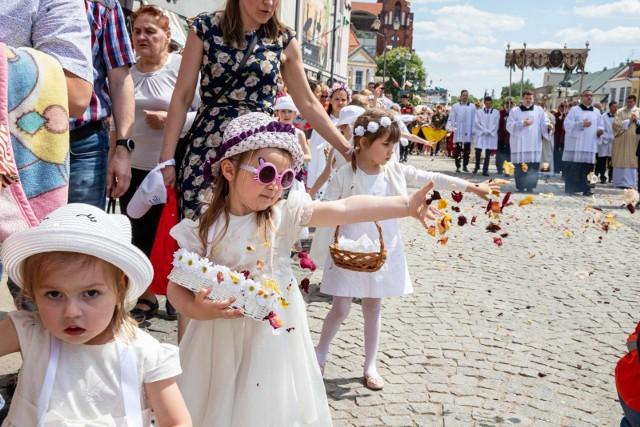 Procesja Bożego Ciała w Białymstoku.