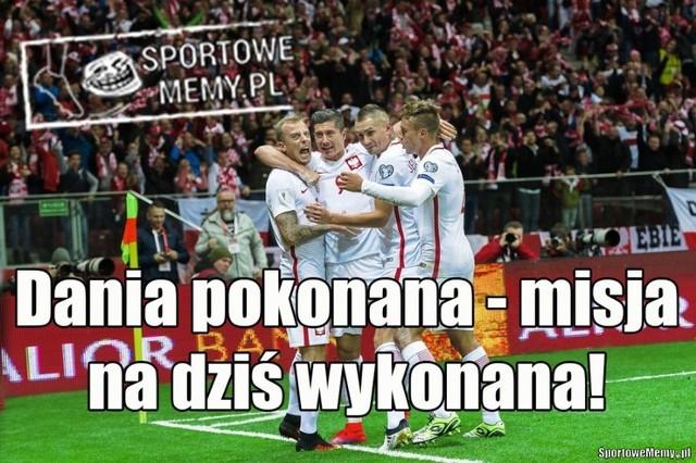 Mecz Polska Dania: najlepsze memy