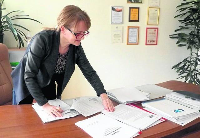 Justyna Grosicka, prezes Fundacji Centrum Innowacji i Przedsiębiorczości, zachęca do skorzystania z ich oferty