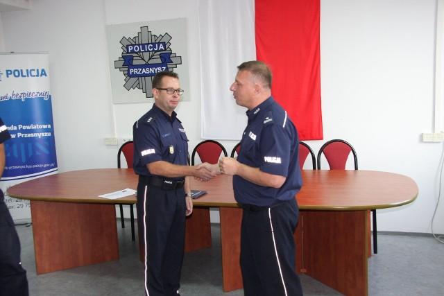 Zmiana na stanowisku pierwszego zastępcy komendanta przasnyskiej policji, 13.09.2019