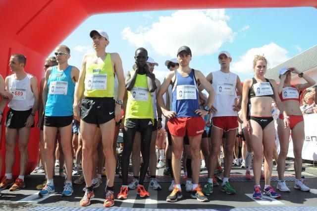 Na starcie półmaratonu pojawią się też biegacze z Afryki
