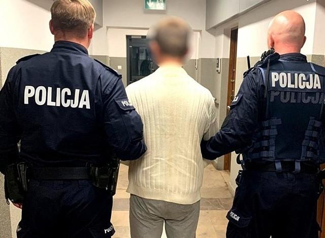 Podejrzany o napad na nastolatke został zatrzymany