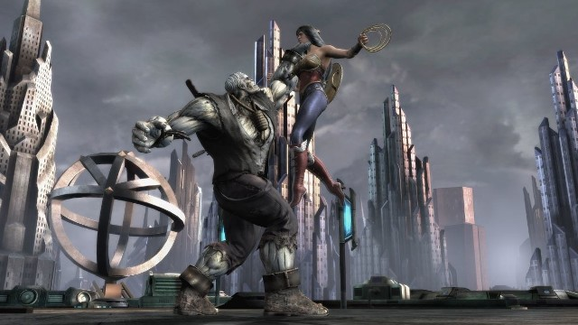 Injustice: Gods Among UsInjustice: Gods Among Us, czyli bijatyka z komiksowymi superbohaterami w rolach głównych