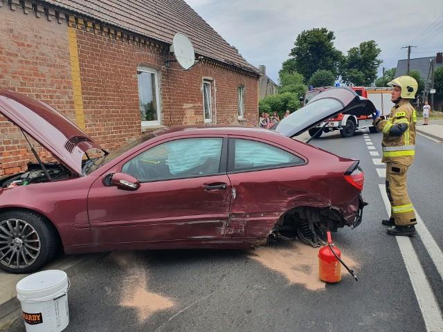 Wypadek na DK nr 20 w miejscowości Siemczyno