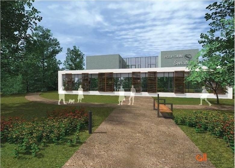 Tak będzie wyglądał nowy budynek dla Hospicjum Światło