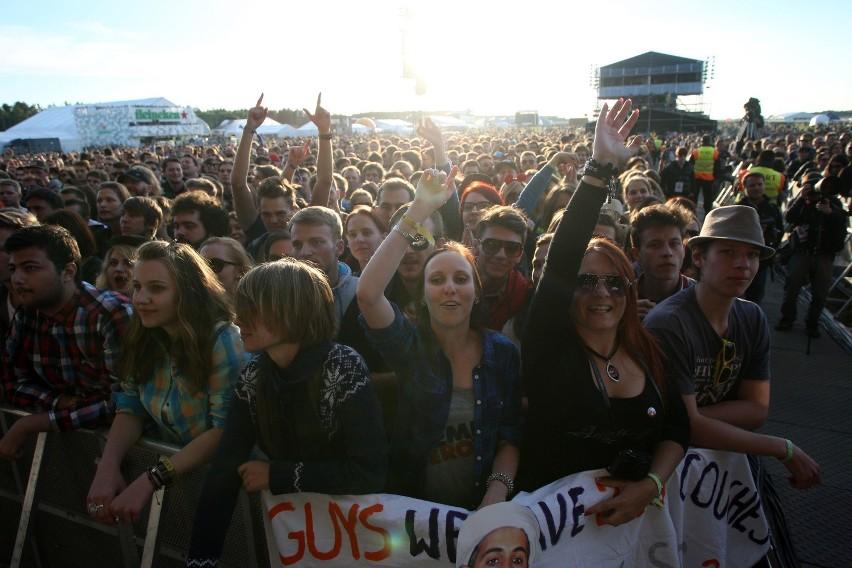 Fani muzyki ściągają na Open'er Festiwal  po raz kolejny