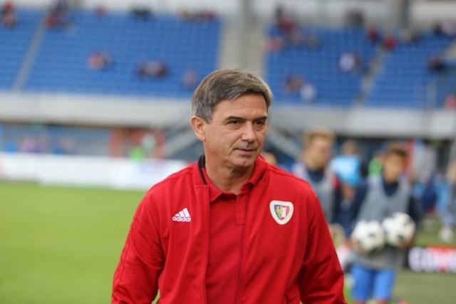 Trener Piasta Gliwice Waldemar Fornalik.