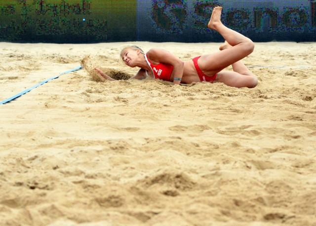 Siatkówka plażowa to bardzo efektowna dyscyplina