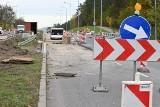 Przedłuży się remont ulicy Popiełuszki w Kielcach, fragmentu trasy krajowej 73 [ZDJĘCIA]