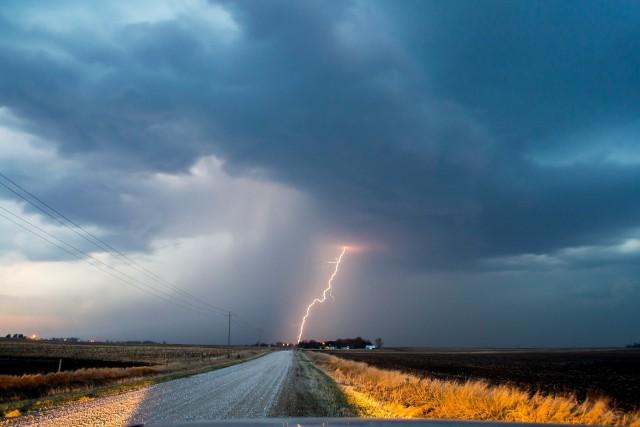 Na północną częścią Lubuskiego mogą przejść burze
