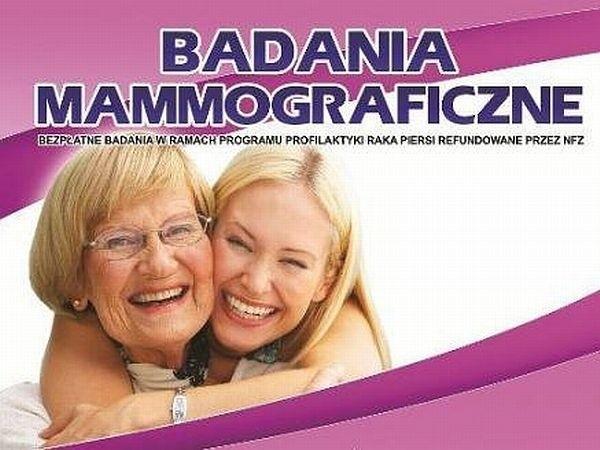 W czwartek przy przychodni lekarskiej w Przytocznej prowadzone będą bezpłatne badania mammograficzne.