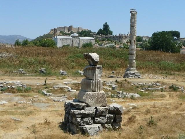 świątynia Artemidy W Efezie Spalił Ją Szaleniec Gazeta