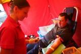 W Brzegu promowali krwiodawstwo. Zebrano 5 litrów krwi