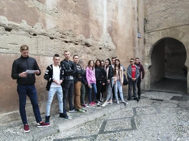 Uczniowie ZSP na stażu zawodowym w Hiszpanii