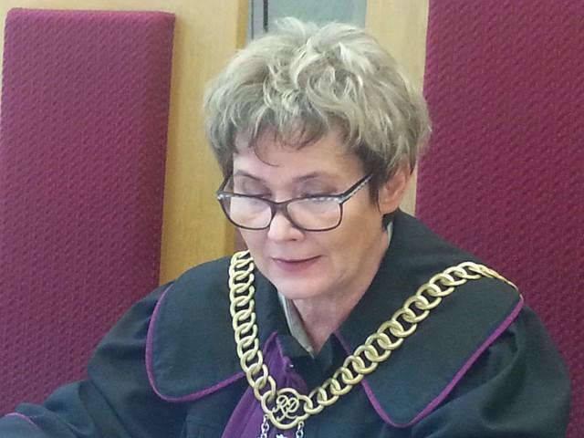 Sędzia orzekająca Maria Motylska - Kucharczyk
