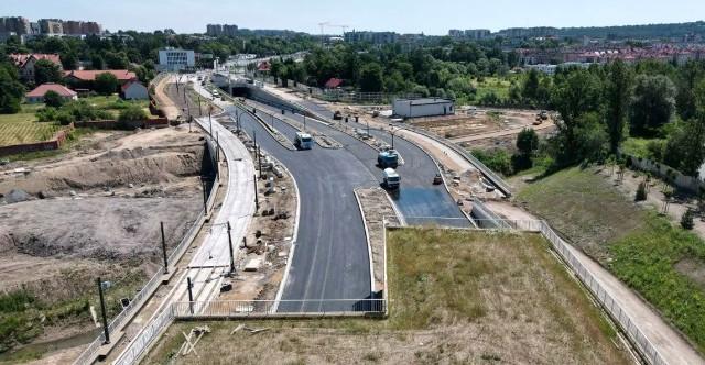 Budowa Trasy Łagiewnickiej ma się zakończyć pod koniec marca 2022 roku.