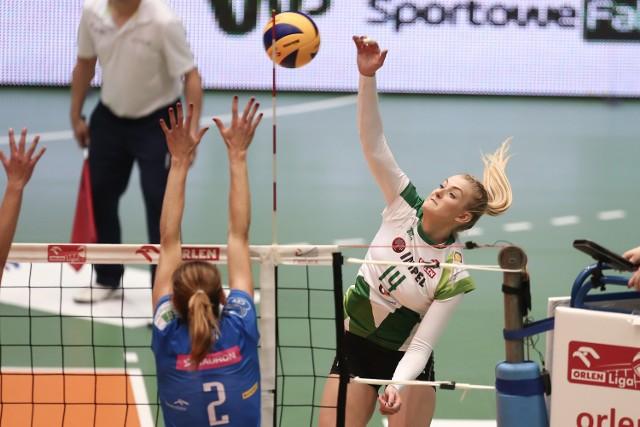 Natalia Mędrzyk atakowała często, ale z mieszanymi rezultatami. Jej pomeczowa wypowiedź zawierała z pewnością nutkę samokrytyki