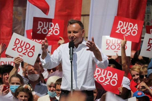Andrzej Duda wygrał w Kolnie