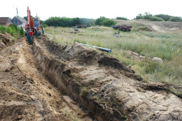 W ramach I etapu robót kanalizacja zbudowana zostanie na odcinku: Mrocza - Matyldzin - Białowieża