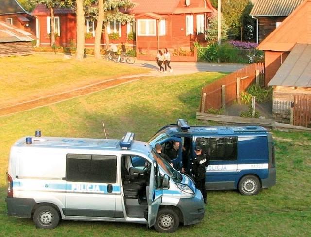 Policja rozgoniła uczestników bójki pod Łysą Górką w Bielsku Podlaskim
