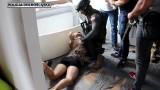 Zabójstwo 10-letniej Kristiny. Oto moment zatrzymania 22-letniego zabójcy