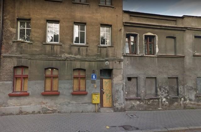Ulica Kościuszki w Inowrocłąwiu. Tutaj doszło do katastrofy
