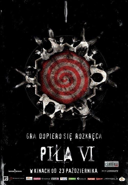 """Plakat z filmu """"Piła VI"""""""