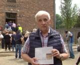 Pożegnalne napisy w Bloku Śmierci w KL Auschwitz